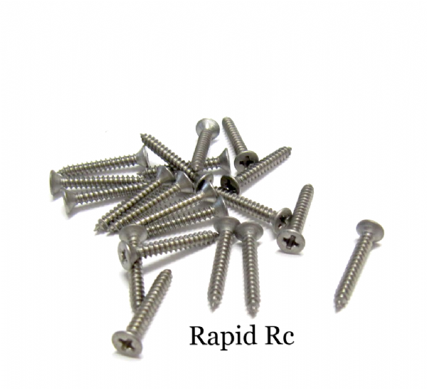 Stainless steel A2 Counter Sunk  Phillips Head Self Tapping screw 2.2mm x 16mm